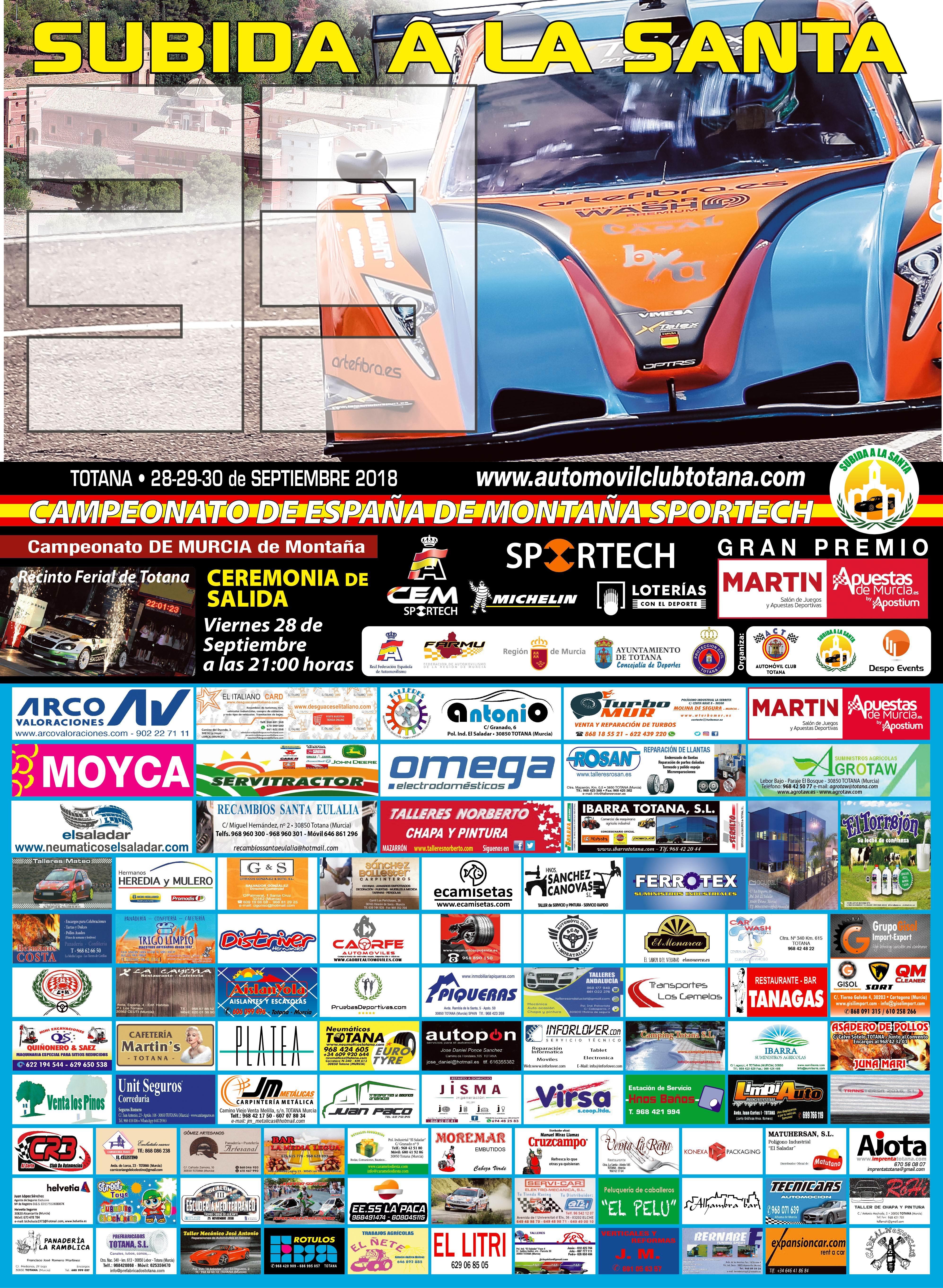 Campeonatos de Montaña Nacionales e Internacionales (FIA European Hillclimb, Berg Cup, MSA British Hillclimb, CIVM...) - Página 20 Cartel