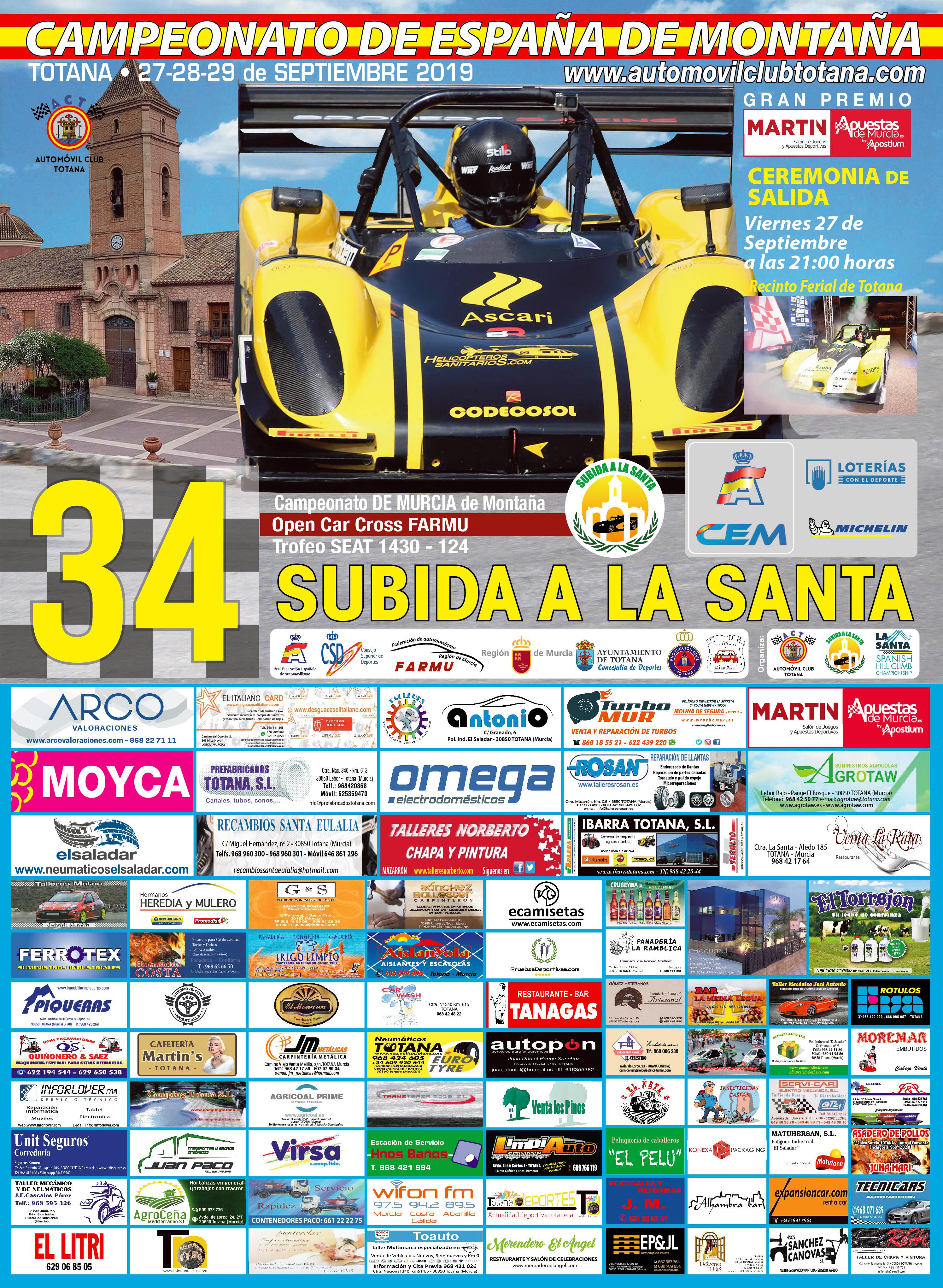 Campeonatos de Montaña Nacionales e Internacionales (FIA European Hillclimb, Berg Cup, MSA British Hillclimb, CIVM...) - Página 31 Cartel